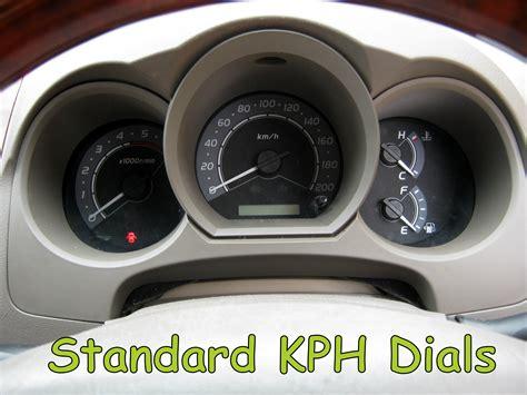 Toyota Hilux Speedometer White Speedo Facia For Toyota Hilux Mk6 Vigo Mph Ebay