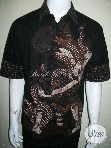 Koleksi Terbaru Kemeja Coklat Sw Kemeja Pria Katun Stretch 1 koleksi terbaru trend kemeja batik tulis pria motif wayang