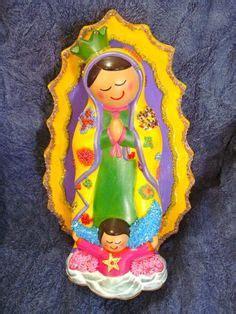 imagen virgen guadalupe infantil virgen plis on pinterest virgen de guadalupe ceramica