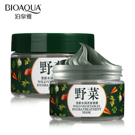 Bioaqua Mineral Mud Mask 120g מוצר bioaqua brand skin care vegetables mud mask cleaning acne blackhead treatment