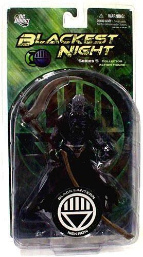 Blackest Series 5 Black Lantern Nekron dc green lantern blackest series 5 black lantern nekron figure dc direct toywiz