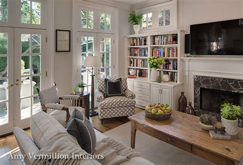 Historic Home Interiors by Charlotte Interior Designers Amy Vermillion Nc Design