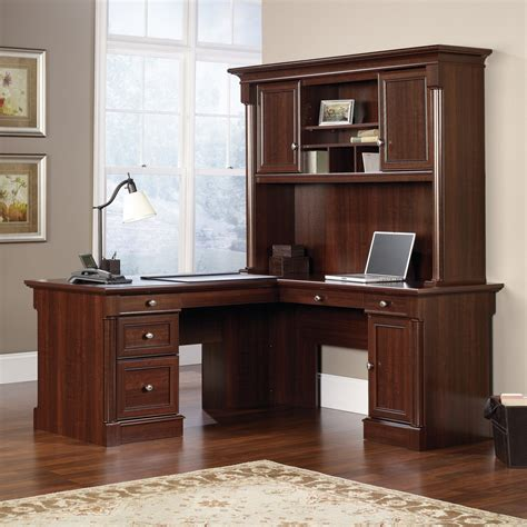l desks with hutch sauder palladia l desk with hutch atg stores