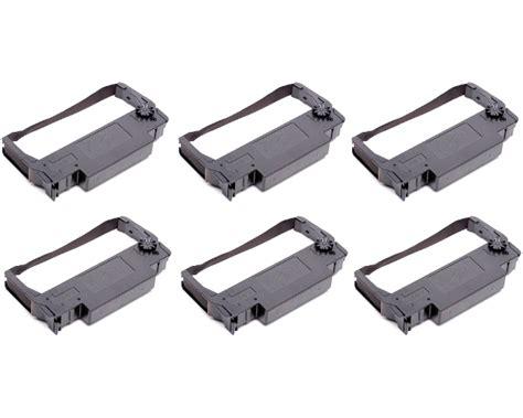 Printer Tm U220a epson tm u220a black ribbon cartridges 6pack quikship toner