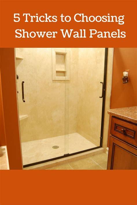 fiberglass bathroom walls best 25 shower wall panels ideas on pinterest