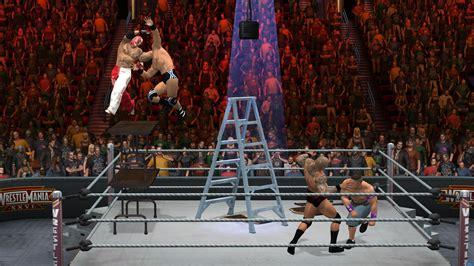 fourteen  wwe smackdown  raw  screenshots caws