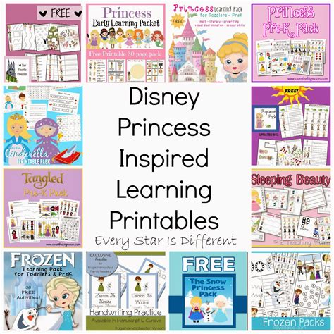 free printable disney activity sheets free disney inspired learning printable packs activities