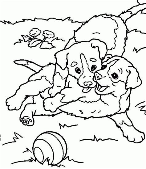 Imagenes De Animales Jugando Para Colorear | dibujos de perros para pintar dibujos para colorear de perros
