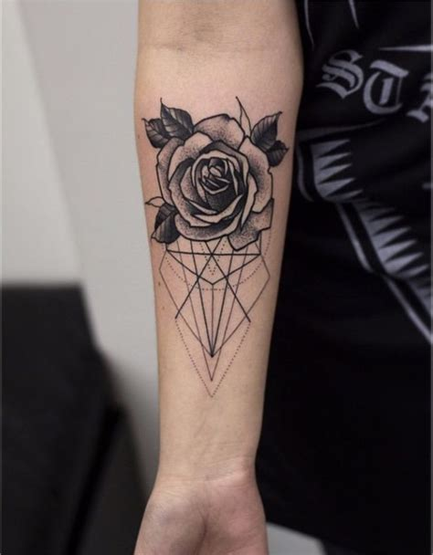 tattoo placement and body flow the 25 best geometric flower tattoos ideas on pinterest