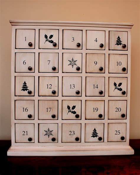 Advent Calendar Drawers Wooden by Oh Yeah Diy Pretty Wooden 2016 Calendar That You Ll Fall