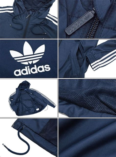 Jaket Adidas Stripe Sing Big Size field rakuten global market adidas adidas jacket s itasca windbreaker navy originals