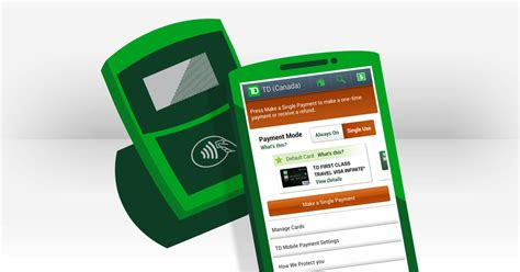 td bank services banking ways to bank ways to pay mobile payment