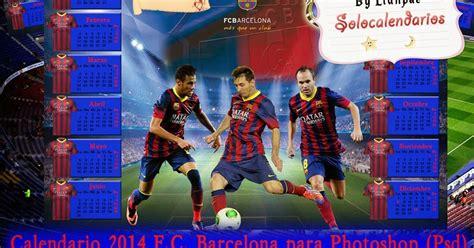 barcelona psd calendarios para photoshop calendario del 2015 de f c