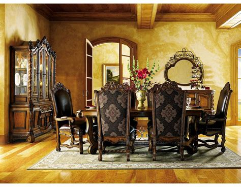 tuscan dining room table old world traditional tuscan dining room and kitchen