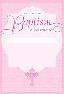 template for baptism invitation dotted pink free printable baptism christening