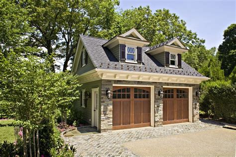 Outdoor Garage Plans by Stained Garage Doors Traditional With Window Shutters