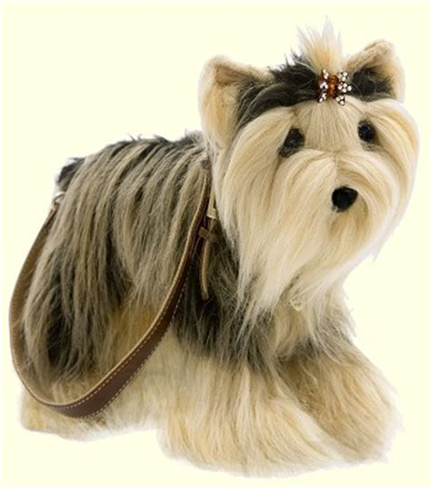 stuffed yorkie puppy stuffed terrier handbag from stuffed ark