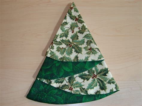 christmas tree napkins how to fold a napkin into a