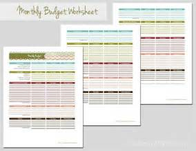 day 19 monthly budget worksheet laura s crafty life