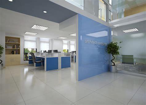 models detailed office interior scene  model max