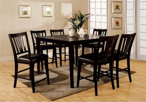 7 piece counter height dining room sets first class 7 piece counter height dining room sets on amazon