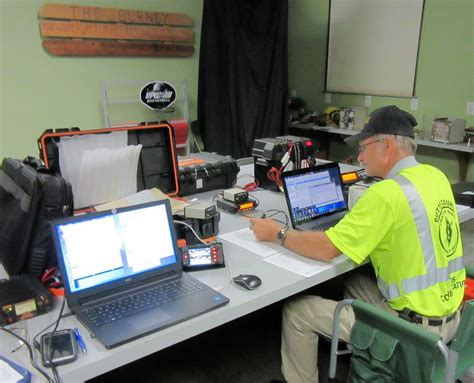 section manager arrl section manager evacuates when fire comes within two