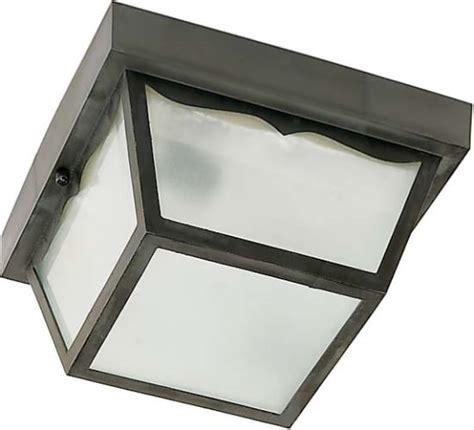 nuvo lighting 77 863 single light 8 quot carport flush mount