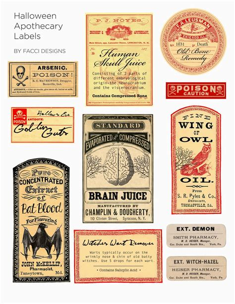 printable apothecary labels best photos of free printable apothecary labels free