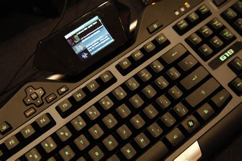 Keyboard Gaming Logitech G19 logitech g19 on i watched on a gaming keyboard