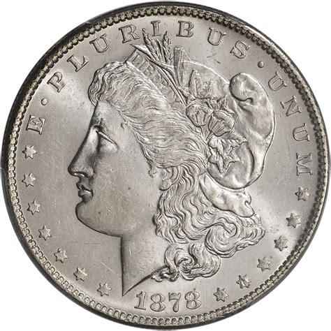 1878 silver dollar 1878 s us silver dollar 1 pcgs ms63 ebay