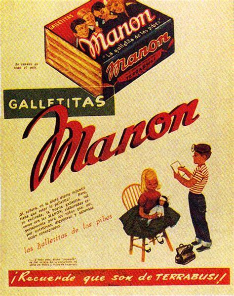 imagenes propagandas antiguas publicidad retro manon argentina nostalgia pinterest