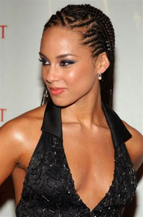 young black american women hair style corn row based 21 natural cornrow hairstyles with pictures 2018