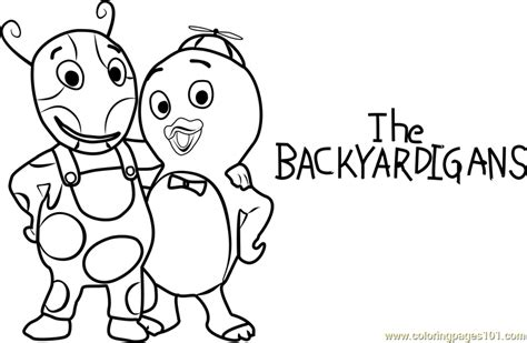 coloring book and the of pablo uniqua and pablo coloring page free the backyardigans