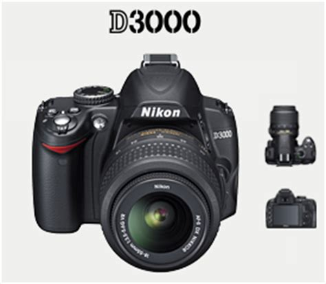 Kamera Nikon D3000 nikon d3000 kamera murah kualitas prima intj