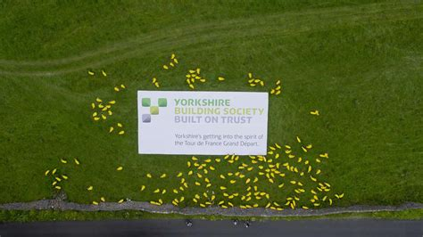 email format for yorkshire building society the skypower aerial filming team love a wacky pr stunt