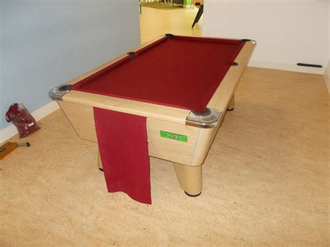 pool table new cloth re covered in leicester by gcl