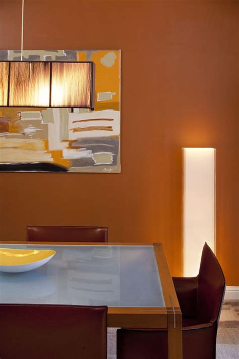 burnt orange dining room colors that bring and vibrancy into any room for 2013