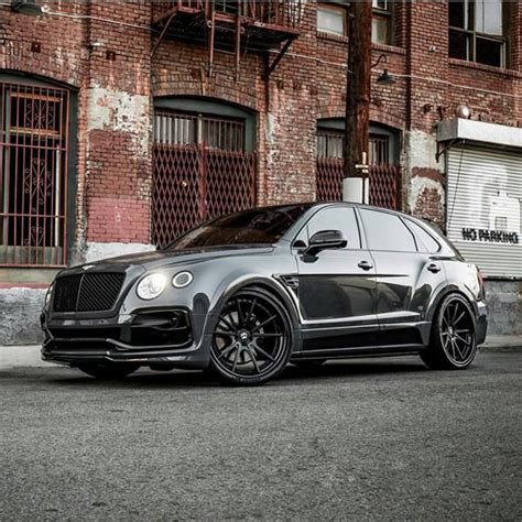 widebody bentley grigio telesto am startech widebody bentley bentayga