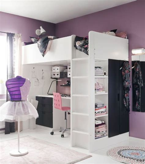 wardrobe under bed beautiful loft beds for adults with desk walk 20 ikea stuva loft beds for your kids rooms home design