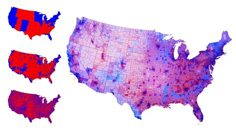 us map and blue counties 2012 cartogram graph graph