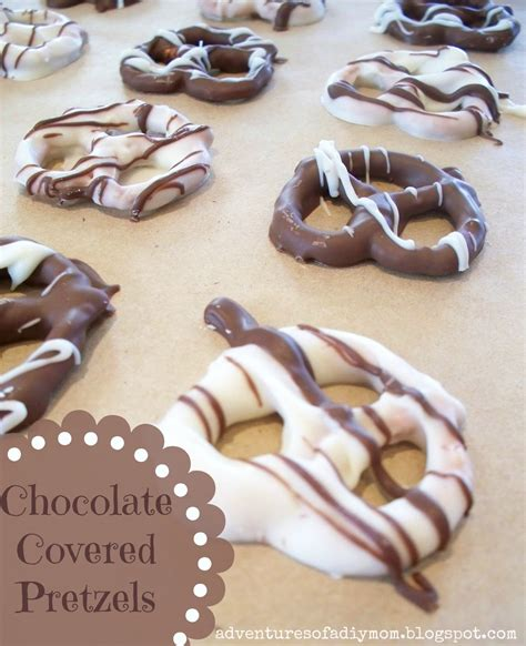 chocolate covered pretzels chocolate covered pretzels adventures of a diy