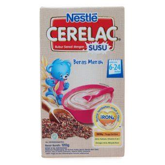 Cerelac Bubur Bayi nestle cerelac bubur beras merah 120 gr lazada