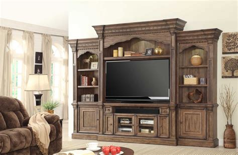 parker house 4 pc parker house aria estate wall entertainment center usa furniture warehouse