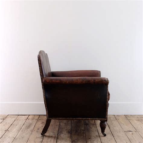 Chic Armchair by Chic Leather Armchair Puckhaber Decorative Antiques