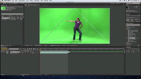 tutorial after effect green screen how to do a key or green screen effect in adobe after
