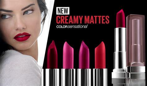 maybelline color sensational matte lipstick new maybelline color sensational matte lipstick