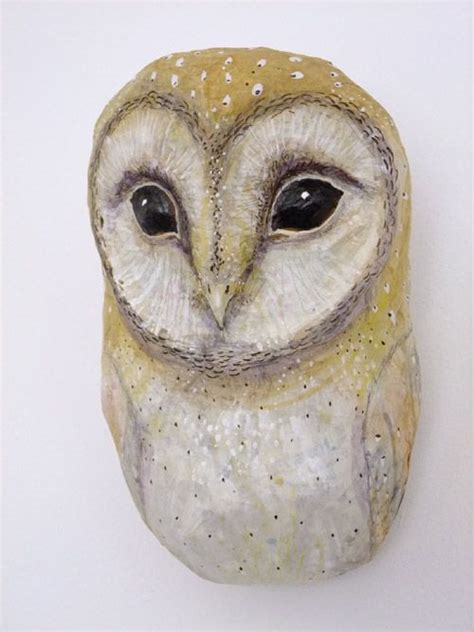 How To Make A Paper Mache Owl - papier mache owl by emily warren barn owls in 3d