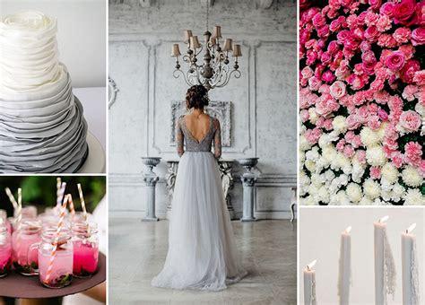 Hochzeitstorte Grau Rosa by Hochzeit In Grau Und Pink Friedatheres