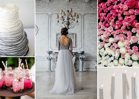 tischdeko hochzeit grau hochzeit deko rosa grau execid