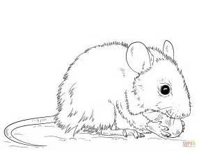Mouse Coloring Page Free Printable Coloring Pages Mouse Coloring Pages